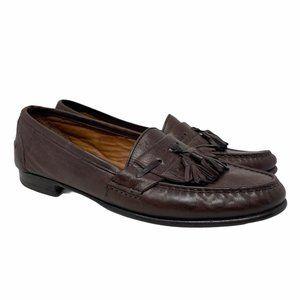 Salvatore Ferragamo 9.5 B Leather Tassel Loafers